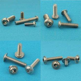 rostfrei M8 x 80 mm Linsenkopfschrauben mit Innensechskant 10 St/ück Eisenwaren2000 - ISO 7380 Linsenkopf Schrauben mit Flachkopf Gewindeschrauben Edelstahl A2 V2A