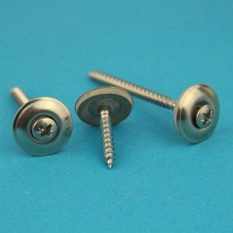 Eisenwaren2000 DIN 316 rostfrei Gewindeschrauben Form /ähnl Edelstahl A2 V2A - Fl/ügel Schrauben amerik 100 St/ück Fl/ügelschrauben M6 x 50 mm