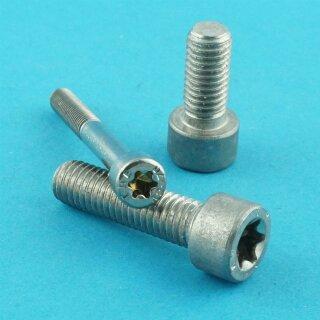 Zylinderschrauben M6 x 30 Stahl verzinkt 8.8 ISO 14579 Torx 200 Stk