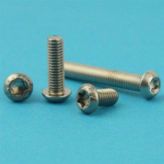 Beliebt Linsenkopfschrauben mit Innensechsrund (TORX) ISO 7380, Vollgewinde, E PJ53