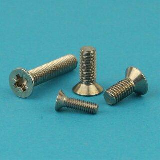 Edelstahl A2 V2A - DIN 7991 50 St/ück Vollgewinde Gewindeschrauben M6 x 25 mm Senkkopfschrauben mit Innensechskant Eisenwaren2000 rostfrei ISO 10642 Senkkopf Schrauben